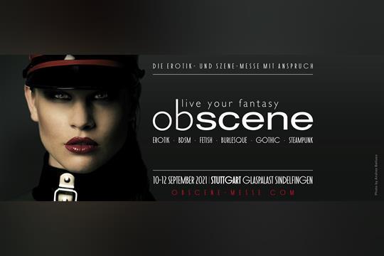 Profilbild von obscene 2021 - Erotik- und Szene-Messe mit Anspruch
